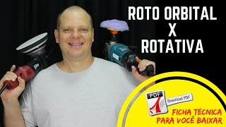 [FICHA TÉCNICA] ROTATIVA x ROTO ORBITAL | Canal Fala Polidor | André Pessôa