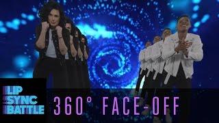 Bryshere Gray vs. Rumer Willis 360° Face-Off | Lip Sync Battle