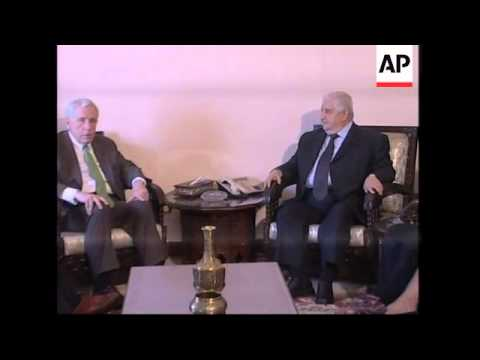 US delegation visiting the Syrian Foreign Ministry