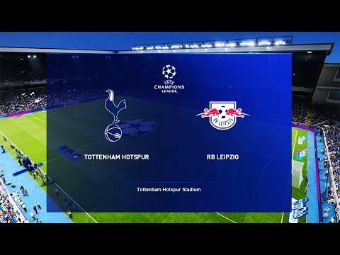 Tottenham Vs Rb Leipzig Highlights – Uefa Champions League | Pes 2020