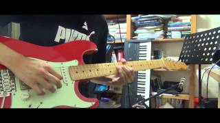 Israel houghton & New breed - Deeper guitar cover