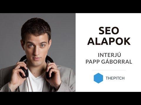 Keresőoptimalizálás, SEO alapok - Interjú Papp Gáborral (thepitch.hu)