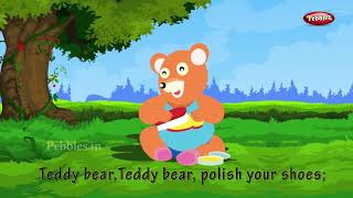 Teddy Bear, Teddy Bear, Turn Around | Nursery Rhymes for Kids and Children | Baby Song