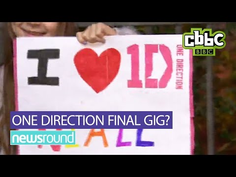 One Direction fans react to final concert - CBBC Newsround