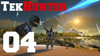ark tek hunter   04 der erste gegner   server 3   ark survival evolved german   pvp