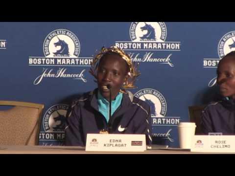 Boston Marathon champions on winning the race