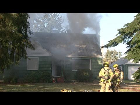 House Fire 300 Block 123rd St East Parkland, WA
