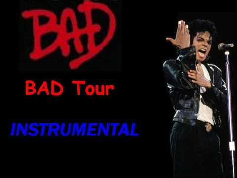 Michael Jackson BAD Bad Tour Instrumental 1987