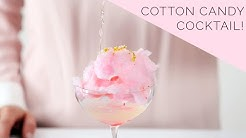 Glitter Cotton Candy Cocktail   Bottoms Up! with Whitney Adams