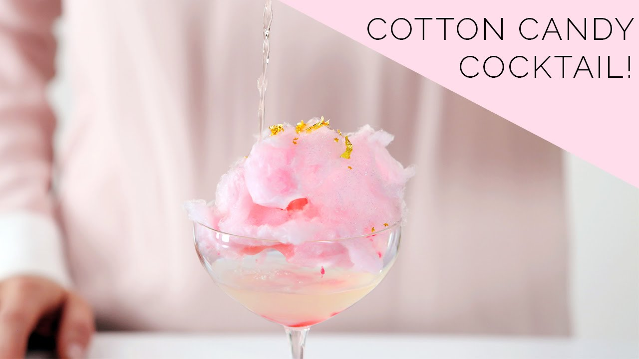 Glitter Cotton Candy Cocktail | Bottoms Up! with Whitney Adams