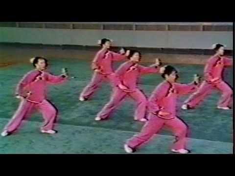 【武術】1976 集団太極拳 / 【Wushu】1976 Taijiquan (Group performance)