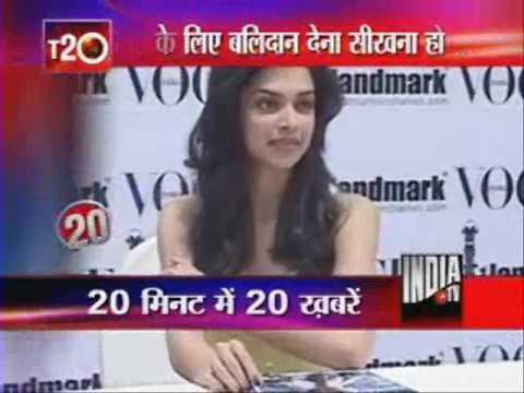 Deepika Advises Dhoni On IPL Late Night Parties