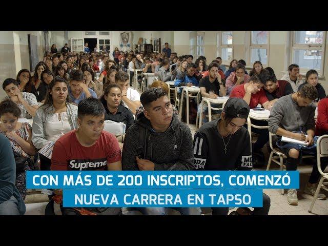 CON MÁS DE 200 INSCRIPTOS COMENZÓ NUEVA CARRERA EN TAPSO