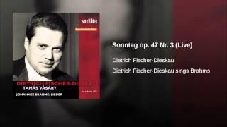 Sonntag op. 47 Nr. 3 (Live)