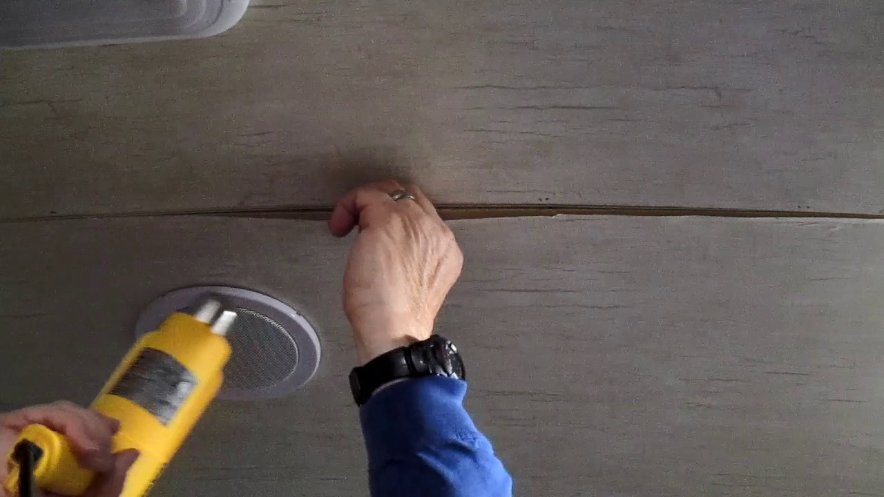 Rv Ceiling Repair Turn On Cc For Instructions Youtube