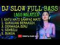 Mantap Dj Slow Full Bass Remix Malaysia Satu