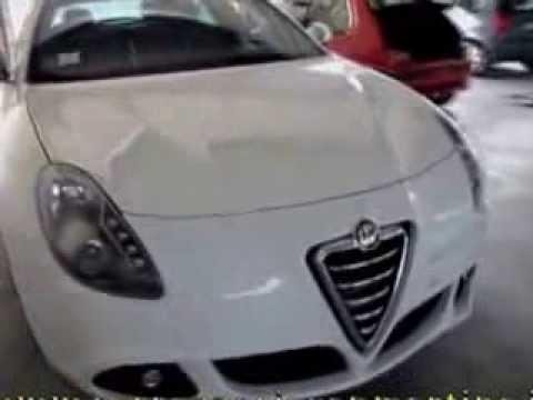 Alfa Romeo Giulietta >> verniciatura paraurti giulietta - YouTube