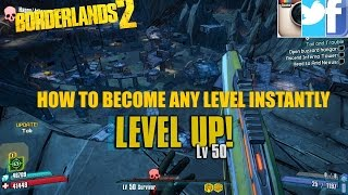 Borderlands 2 instant level 50/72 glitch 2018