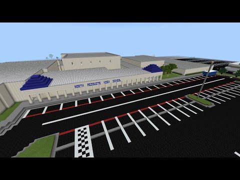 North Mesquite High School Minecraft Tour!