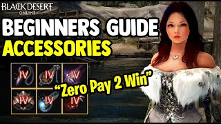 Black Desert Online [BDO] - How to Enhance Accessories - Beginners Guide 2020 [Zero Pay To Win]