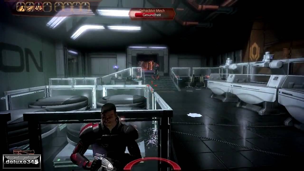mass effect 2 how to change weapons