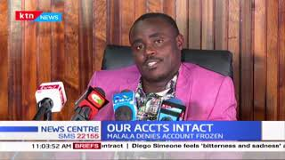 """""""I wish to tell those lobbyists that I will not be intimidated"""", Cleophas Malala stated"""