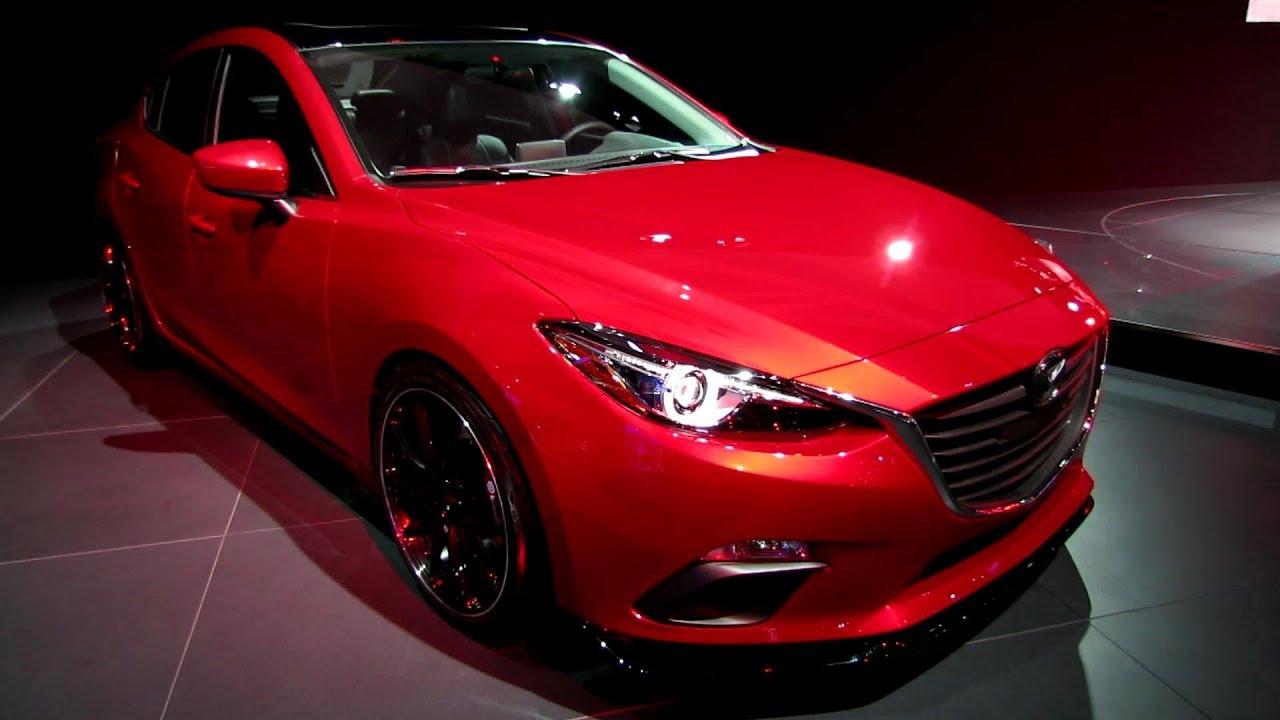 2014 Mazda 3 Vector Concept - Exterior Walkaround - 2013 ...