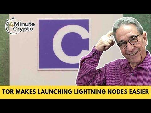 Tor Makes Launching Bitcoin Lightning Nodes Easier