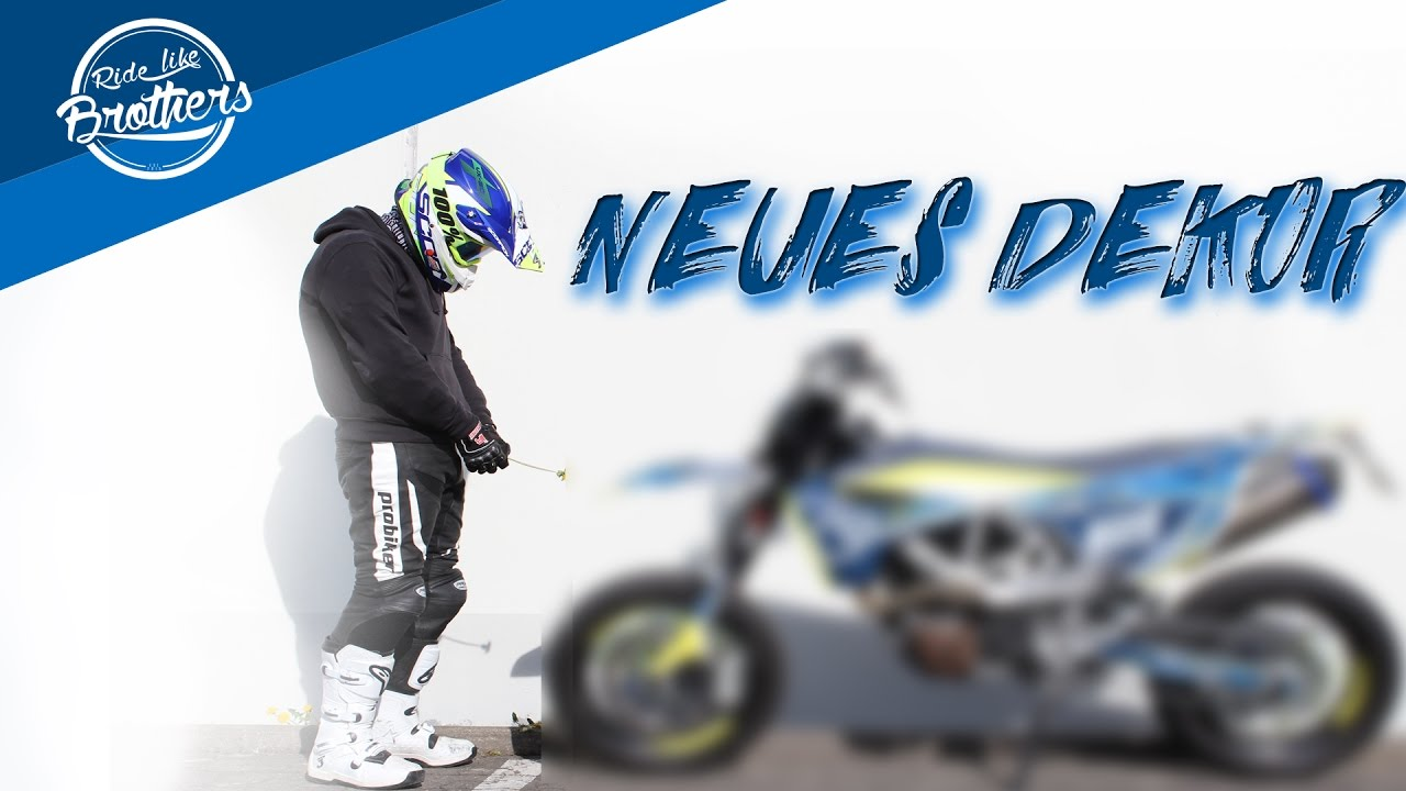 das neue dekor husqvarna 701 felix superbike youtube. Black Bedroom Furniture Sets. Home Design Ideas