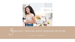 3 of the main services Cassie Brown provides at Candid Health