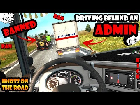 ★ IDIOTS on the road #39 - ETS2MP | Funny moments - Euro Truck Simulator 2 Multiplayer