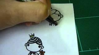 Repeat youtube video วิธีวาดรูปง่ายๆ ใน 1 นาที by Memoriesme