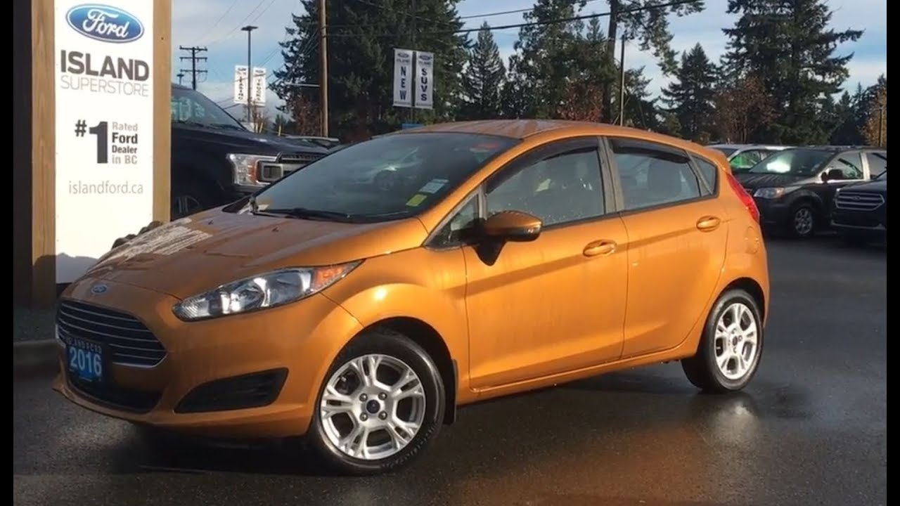 2016 Ford Fiesta SE, Tonneau Cover, Power Release Trunk