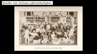 Gandhi och Indiens frigörelse från Storbritannien