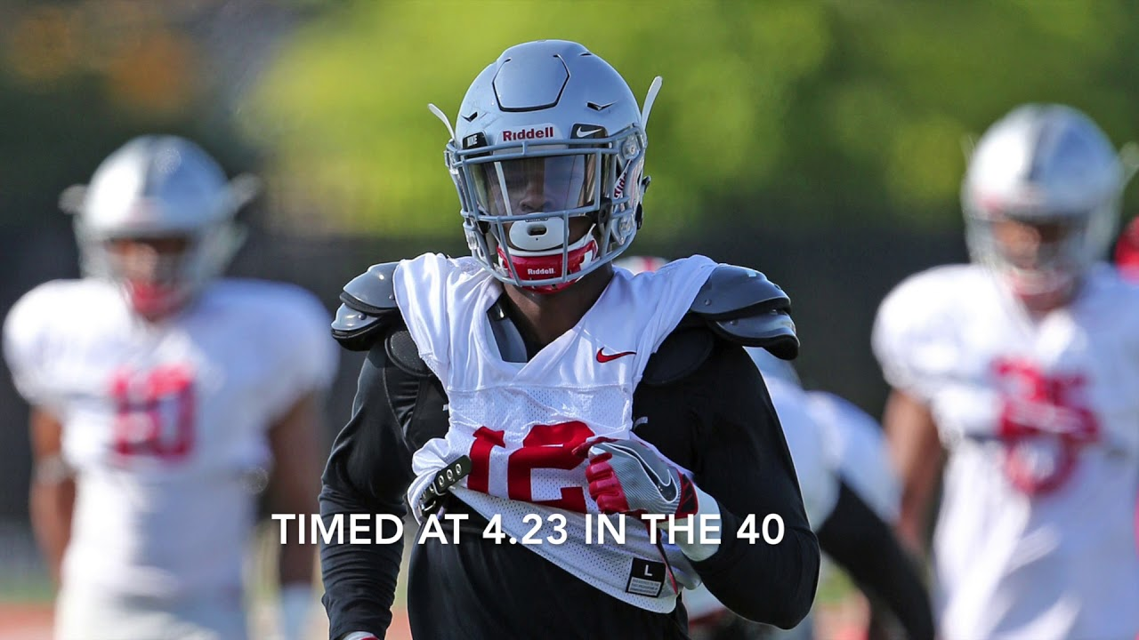 buy online c7287 7ff12 Denzel Ward, No. 10 in top 50 Ohio State players for 2017