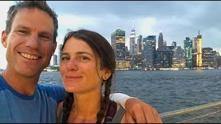 We Made it to New York City! Ryan and Ali Bike Across America-Ep 34