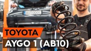 Montering Viskermotor foran og bak TOYOTA AYGO: videoopplæring