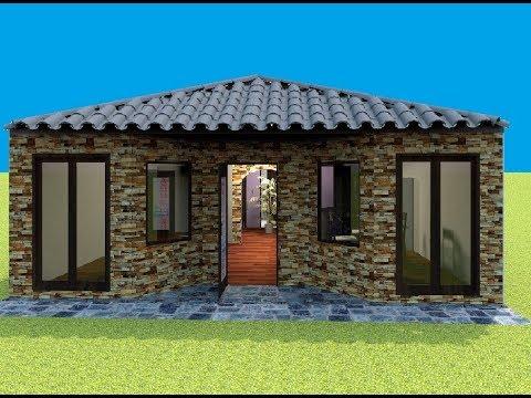 Casa 8x12 Mts House 8 X 12 Mts