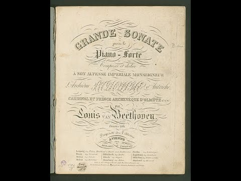 "Beethoven Piano Sonata No.29, Op.106. ""Adagio Sostenuto"" I Sergei Yerokhin"