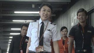 23歳女性パイロット、大空へ  私立大養成でデビュー thumbnail
