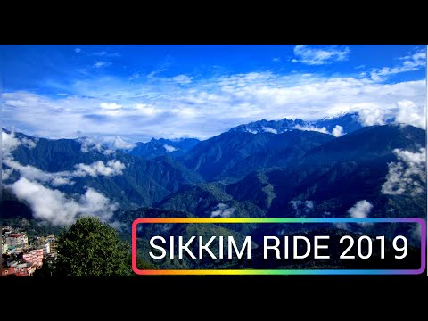 Sikkim Bike Ride 2019||North Sikkim Ride Exploring The Beautiful Roads of Sikkim||Hairpin Bends||
