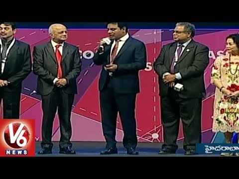 IT Minister KTR Express Thanks For Making World IT Congress Successful | V6 News
