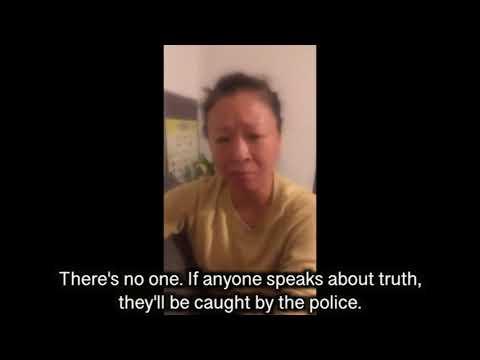 """wake up All China Citizen !!"" she said"