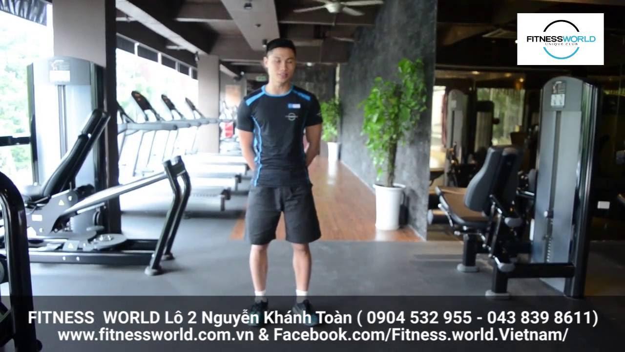 FITNESS WORLD Nguyễn Khánh Toàn: cardio cho người mới tập luyện