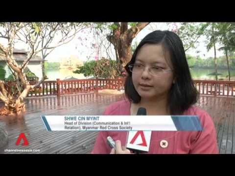 Aid on Myanmar highway