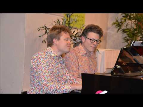 Duo b!z'art - Bernstein, West Side Story: Something's coming mp3
