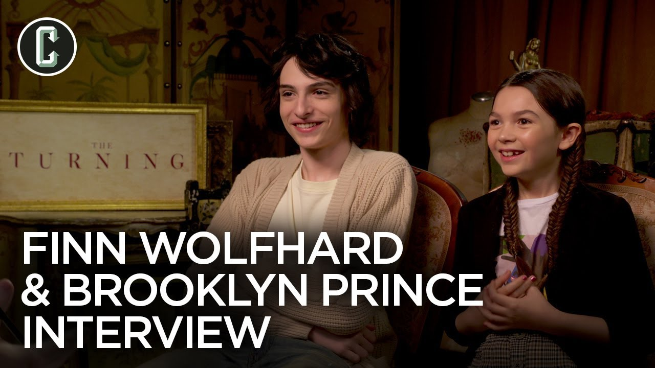 Download Finn Wolfhard & Brooklynn Prince on The Turning and Stranger Things 4