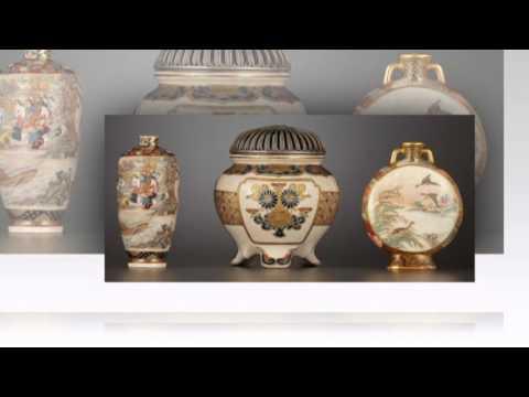 Antique Japanese Vases Youtube