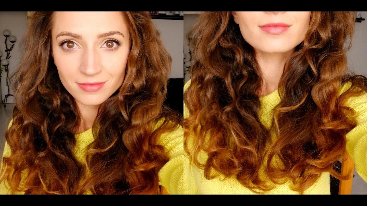 Como Rizar El Pelo Sin Calorsin Quemarsin Dañar How To Curl Your Hair Without Heat