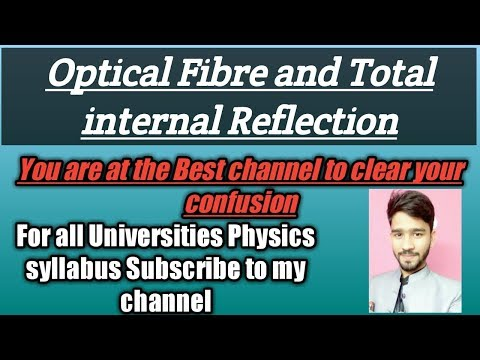 Optical fibre And Total internal reflection- Communication System-[Raj Physics Tutorials]